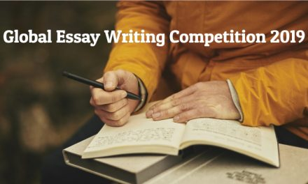Global Essay Writing Competition 2019 – (Win a trip to Washington D.C)