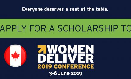 Women Deliver 2019 Conference Media Scholarship Program Canada