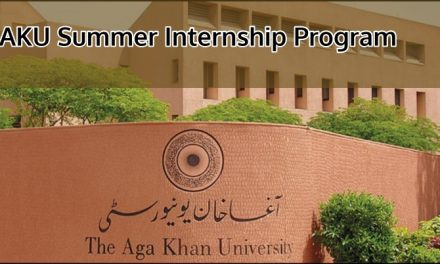 Aga Khan University AKU Summer Internship Program 2019