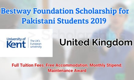 Bestway Foundation Scholarship for Pakistani Students 2019 in Uk
