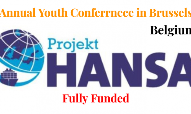 Annual Youth Conference 2019 in Brussels, Belgium – Fully Funded