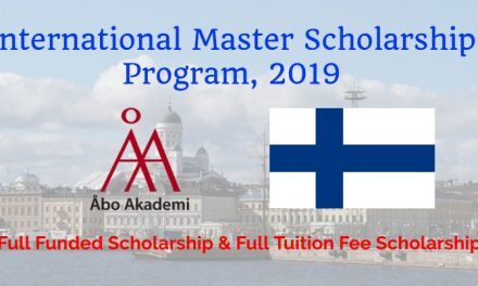 International Master Scholarship in Abo Akedemi University Finland