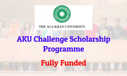 Aga Khan University AKU Scholarship Program 2019 for FSc/A-levels Students