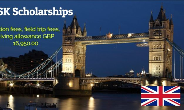 GSK Scholarships 2019-2020 for Future Leaders in United Kingdom