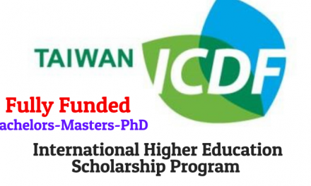 Taiwan International Higher Education Scholarship Program 2019