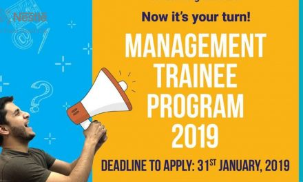 Nestle Pakistan Management Trainee Program 2019