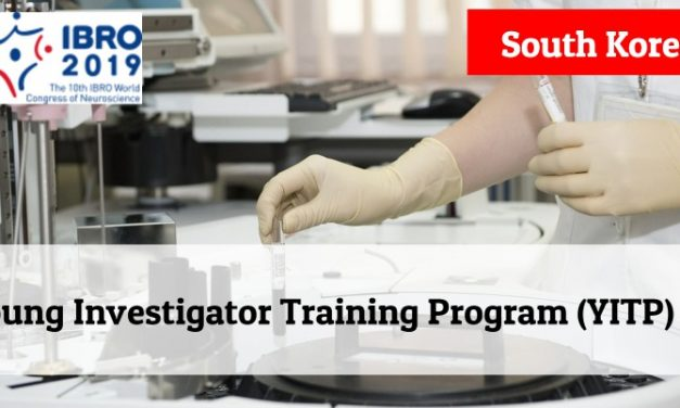 Young Investigator Training Program (YITP) 2019 in South Korea – Fully Funded