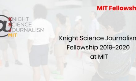 Knight Science Journalism Fellowship 2019-2020 at MIT