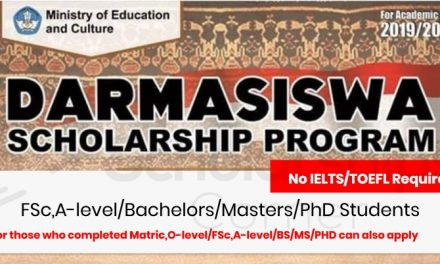 Darmasiswa Indonesian Exchange Scholarship Program 2019-2020