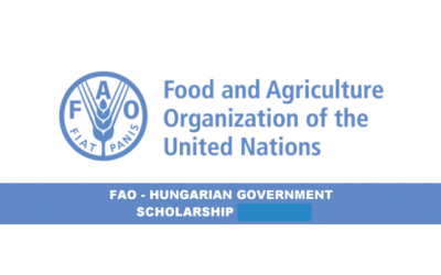 FAO Hungarian Government Scholarship 2020-21 – Fully Funded