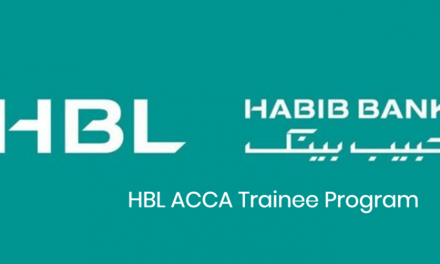 Habib Bank Limited HBL ACCA Trainee Program 2019