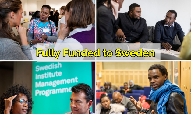 Swedish Institute Management Program Africa 2020 – Fully Funded