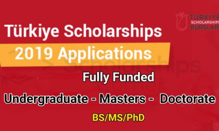 Turkey Scholarship 2019 for International Students – Fully Funded
