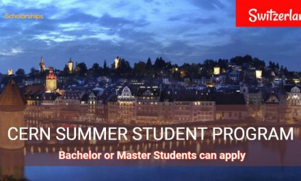 Summer Student Program 2019 in Switzerland – Fully Funded
