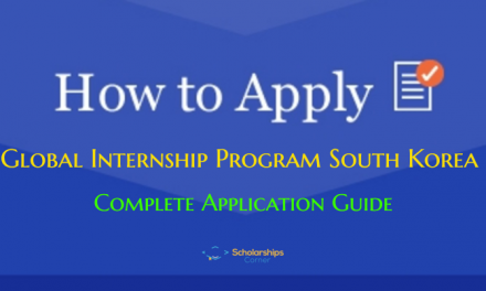 How to Apply for Global Internship Program South Korea? Application Guide