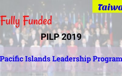 Pacific Islands Leadership Program 2019 with Taiwan (PILP) [Fully Funded]