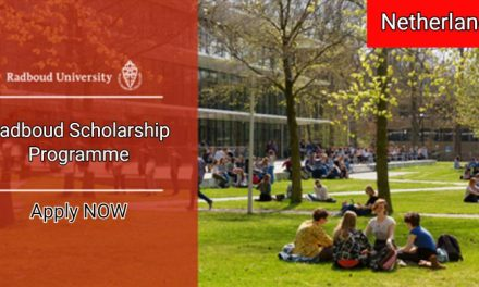 Radboud Scholarship Programme 2019/20 in Netherlands