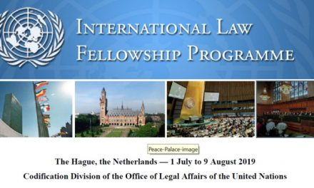 United Nations Fellowship Programme 2019 in Hague, Netherlands [Fully Funded]