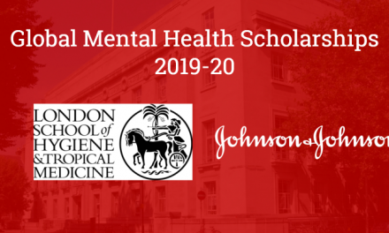 Global Mental Health Scholarships 2019-20 in UK