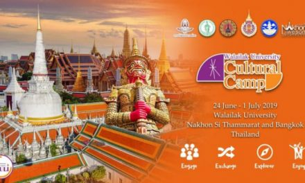 The 3rd Walailak University Cultural Camp 2019 in Thailand