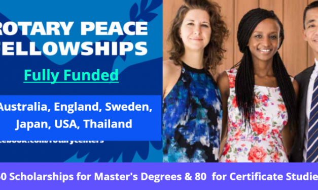 Rotary Peace Fellowship Program 2021-22 (Fully Funded)