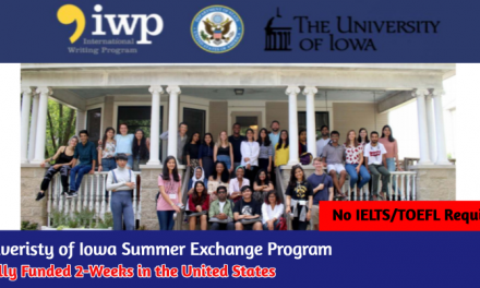 University of Iowa Summer Exchange Program 2020 [Fully Funded] in USA