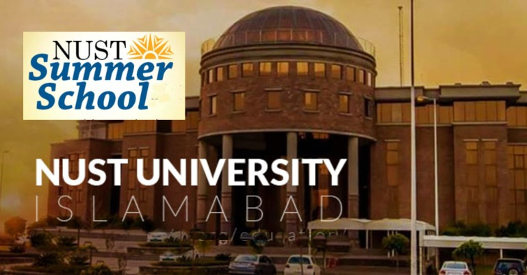 NUST Summer School 2019 in Pakistan for BS/MS/PhD Students