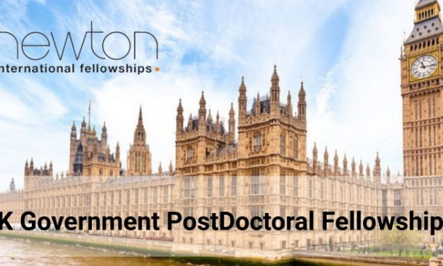 UK Government PostDoctoral Fellowships 2019 – Fully Funded