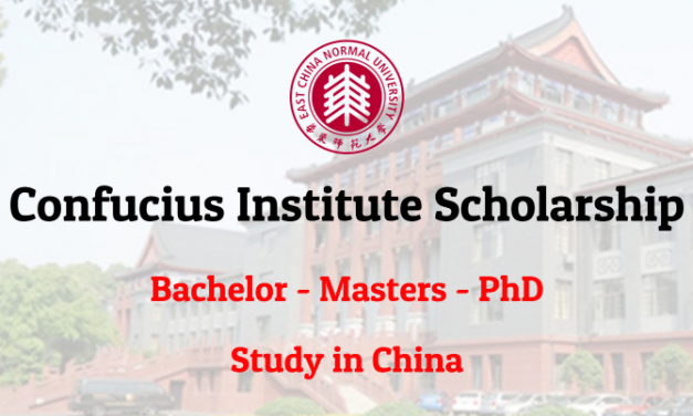 Confucius Institute Scholarship 2019 – Scholarship in China