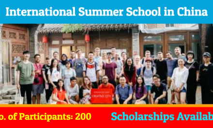 Tsinghua International Summer School 2019 – Summer in China