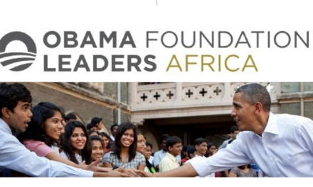 Obama Foundation Africa Leaders Program 2019 in Johannesburg, South Africa