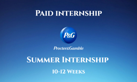 Procter & Gamble PG Summer Internship 2019 in Pakistan