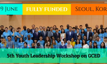 UNESCO Youth Leadership Workshop 2019 [Fully Funded] in Seoul, Korea