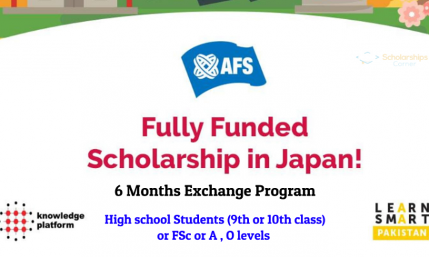 AFS Japan Exchange Program for Pakistani Students 2019 [Fully Funded]