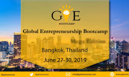 Global Entrepreneurship Bootcamp in Thailand – GEB 2019