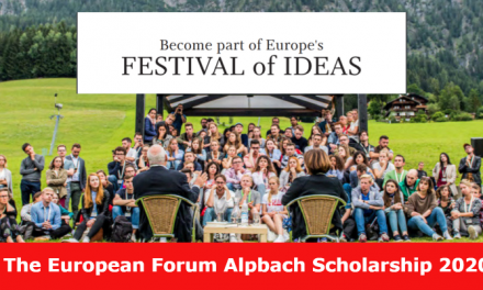 Alpbach Scholarship Programme 2020 – Spend Summer in Austria