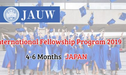 JAUW International Fellowship Program 2019 in Japan – Fully Funded