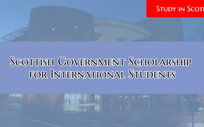 Scottish Government Scholarship 2019 for International Students