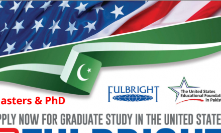 US Fulbright Scholarship for Pakistani Students 2019-2020 [Fully Funded]