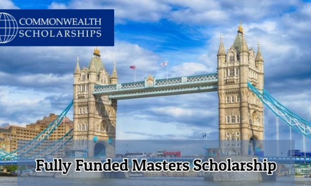Commonwealth Distance Learning Scholarships 2020, UK – Fully Funded