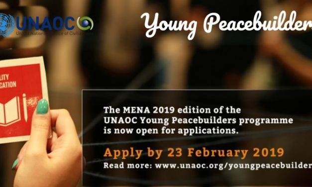 UNAOC Young Peacebuilders Programme 2019 – Fully Funded
