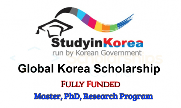 Global Korea Scholarship 2019 – Fully Funded [Previously known as KGSP]