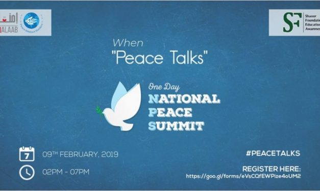 National Peace Summit Pakistan – When #PeaceTalks by Peace Without Borders