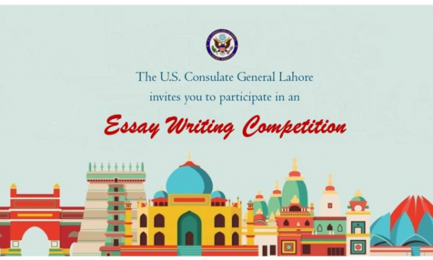 Essay Writing Competition 2019 by US Consulate General Lahore