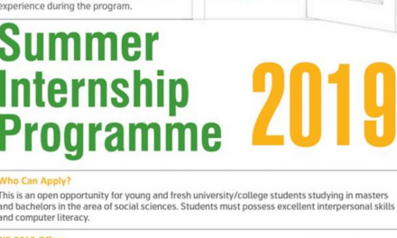 IRM Summer Internship Programme 2019 for 6 Weeks