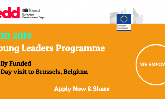 European Commission Young Leaders Programme 2019 in Brussels [Fully Funded]