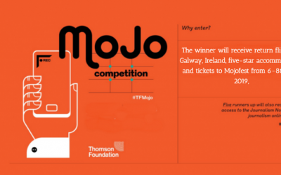 Thomson Foundation Journalism Competition 2019 – Fully Funded to Ireland