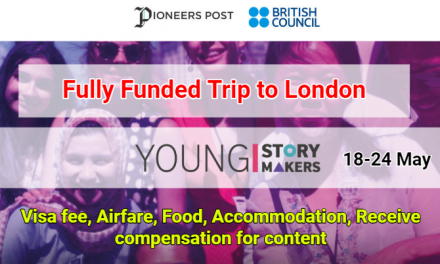 DICE Young Storymakers Programme 2019 – Fully Funded Trip to London