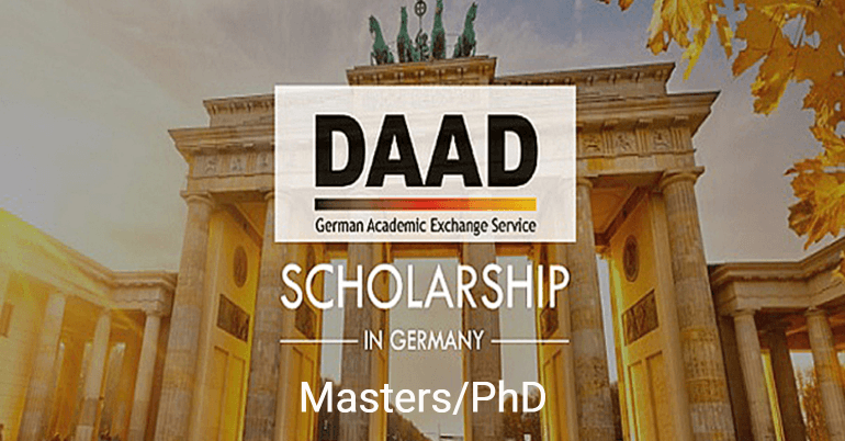 DAAD Scholarship 2019-2020 in Germany - Fully Funded Master's/PhD
