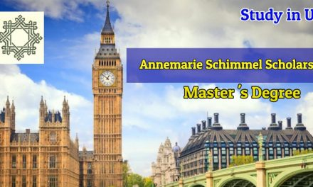 Annemarie Schimmel Scholarship for Pakistani Female Students 2019 in United Kingdom